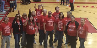 LCHS Staff Rocks