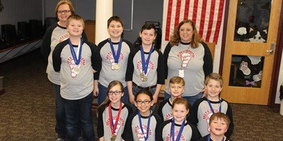 South Livingston Elementary Academic team placed FIRST in the District Governor's Cup. We are very proud of you!!!