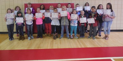 NLES Perfect Attendance 3rd nine weeks