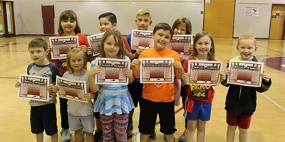 SLES Sept. Students of the Month