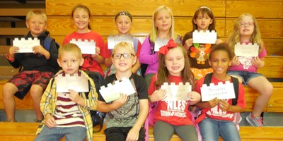 Congrats to NLES Students with Good Behavior that they have earned clip promotions!
