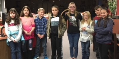 District Spelling Bee Winners 4-8th Grade