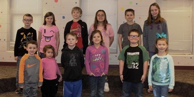 Congrats to SLES Students of the Month!