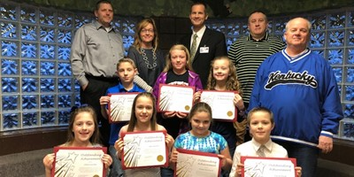 The Livingston County Board of Education recognized North Livingston Elementary students for achievements they have earned for excellent behavior and clip promotions.