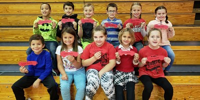 NLES Students that double or tripled their AR Goal during the 1st nine weeks!