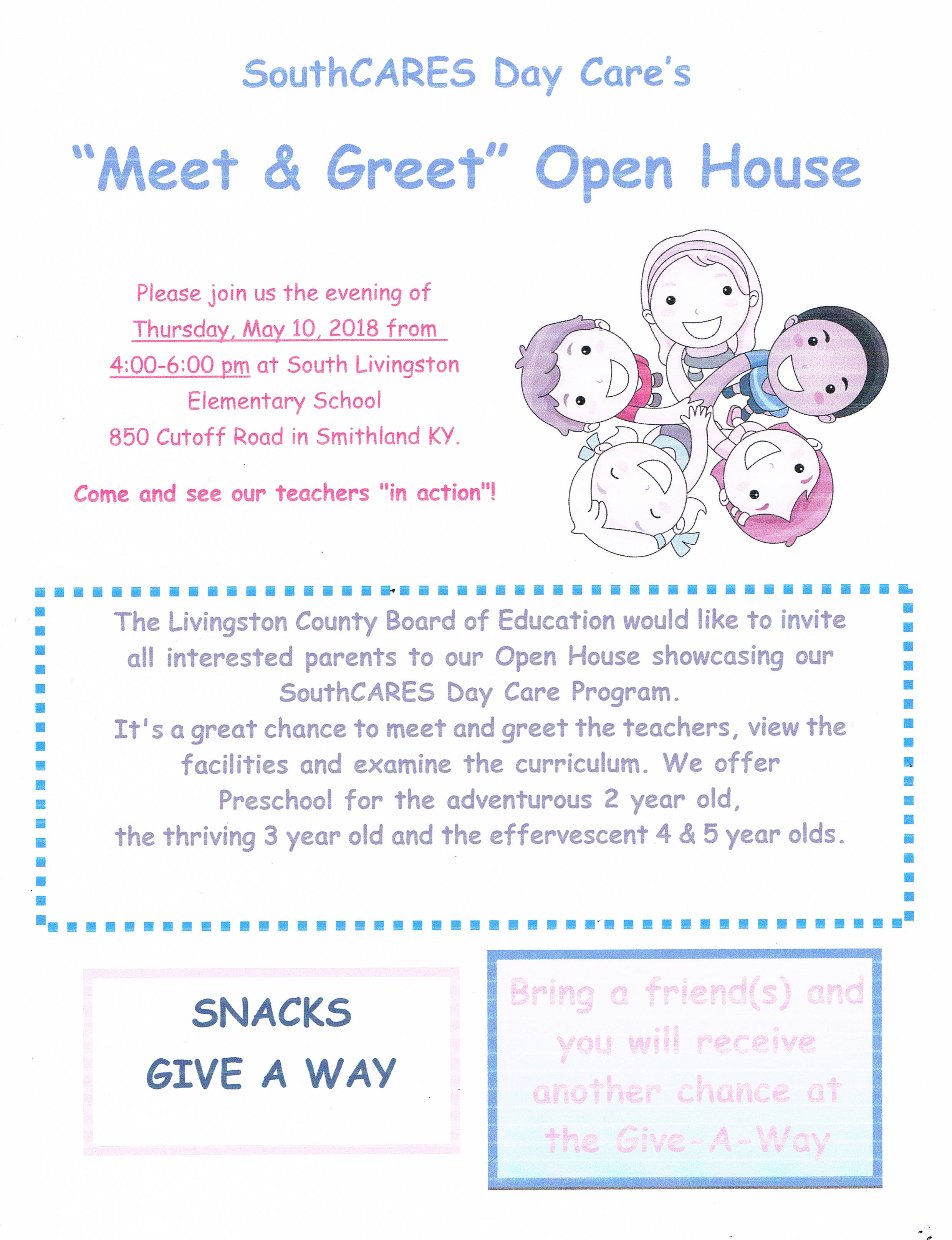 Day Care Open House
